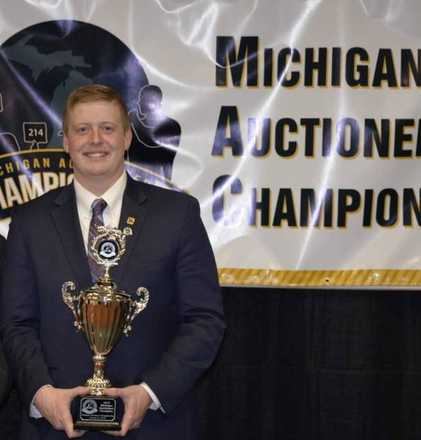 Last month in Mt. Pleasant, Michigan, Billy Peyton claimed the title of first place at the annual Michigan Auctioneers Championship contest.