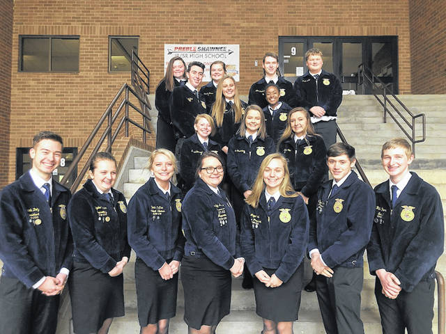 The Preble Shawnee FFA chapter honored National FFA Week through multiple events which got chapter members and the entire school involved.