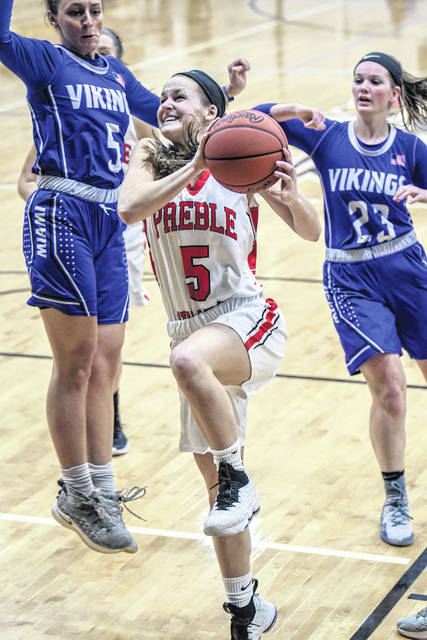 Preble Shawnee's Jenna Lovely earned 1st-team All-Southwest District in Division III.