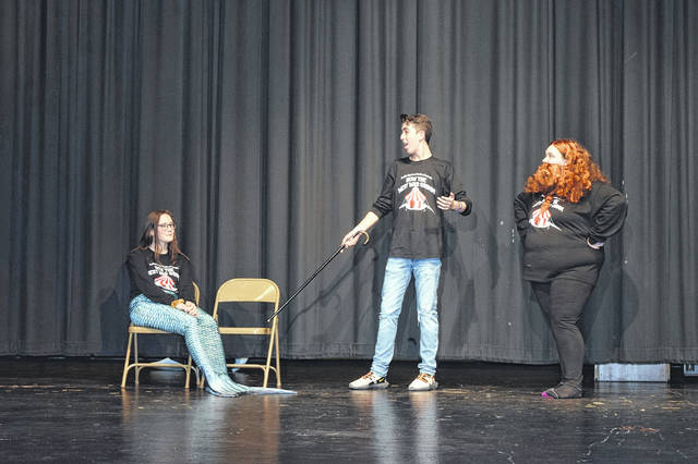 "Preble Shawnee Theatre will be performing ""How the West was Grimm"" this weekend. The show will be held on Friday, March 15, and Saturday, March 16, at the Preble Shawnee Junior High/High School Auditorium. Doors open at 6:30 p.m. and the show will begin at 7 p.m. Tickets are $5 presale and $8 at the door."