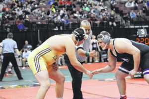 Eaton's Bowman, Straszheim conclude career's at state