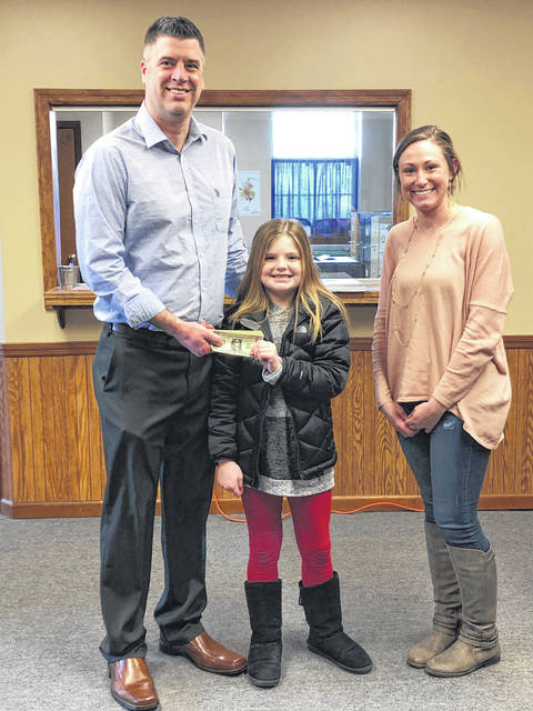 Braeden Borgwardt is a 4th grade elementary student at Eaton Community Schools who took it upon herself to send out donation letters for Home is the Foundation (HIT Foundation) and raised money for their programs and services.