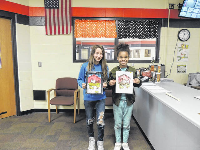 The National Trail Miami Valley Career Technical Center (MVCTC) FFA Chapter held a coloring contest for grades kindergarten through sixth grade.