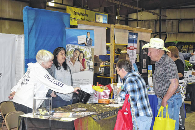 The Preble County Chamber of Commerce Business Expo broke attendance records this past weekend, with approximately 1,200 visitors. The annual event was held from Friday, April 12 through Saturday, April 13 and featured 104 businesses, organizations and restaurants.