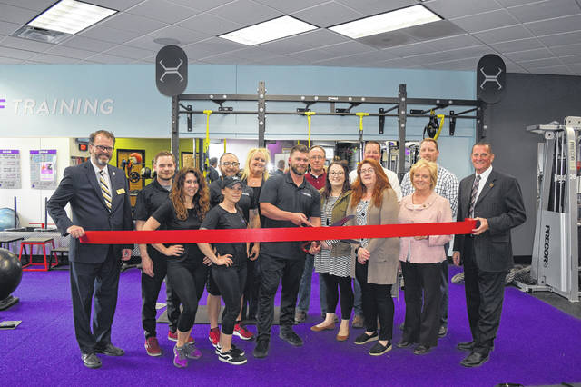 Anytime Fitness celebrated with a ribbon cutting ceremony for its new location on Wednesday, April 24. County, city and other officials joined the Preble County Chamber of Commerce in recognizing Anytime Fitness' special day.