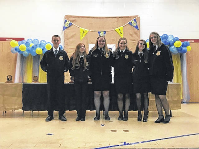 On March 10, the Tri-County North Miami Valley Career Technical Center (MVCTC) FFA held its annual banquet. This year there were 244 FFA members, guests, and community members present.