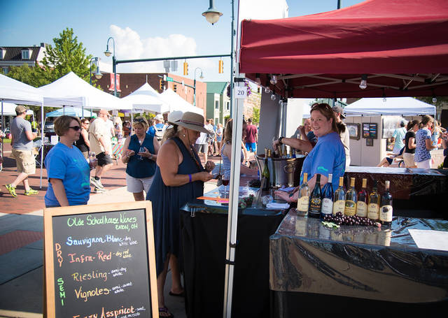 The Oxford Chamber of Commerce is hosting its 12th annual Wine and Craft Beer Festival from 3-10 p.m. on Saturday, June 1, in Oxford's Uptown Memorial Park