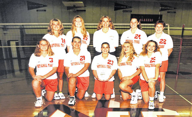 1996 National Trail Volleyball Team