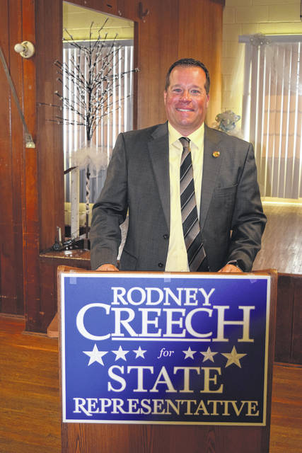 Commissioner Rodney Creech announced his campaign for State Representative of the 43rd District on Monday, May 6. Creech will be running against current Representative J. Todd Smith.