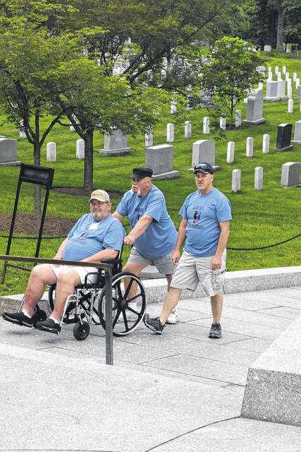 The veterans who made the journey with Preble County Veterans Services visited the war memorials while in Washington D.C.