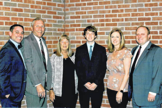 Matthew Wright, a 2019 graduate of Eaton High School, has been named this year's recipient of the G. Matthew Henry Memorial Scholarship.