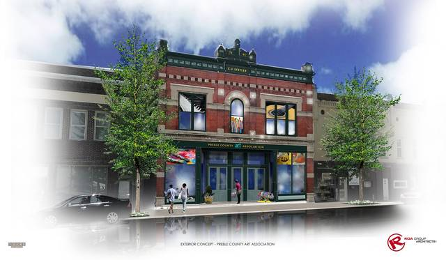 The Preble County Art Association will soon move into its brand new, downtown location in the historic Stotler Building on Main Street.