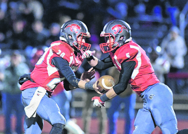 Tri-County North and Twin Valley South's football teams will both be in Division VII beginning in the fall due to a decline in enrollment figures. Eaton (D-IV), National Trail (VI) and Preble Shawnee (D-V) will all remain in the same division as last season.