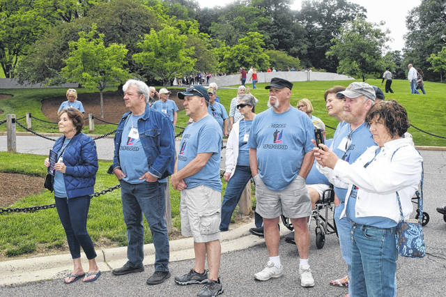 Preble County Veteran Services took 29 veterans and their families to Washington, D.C. May 16-18. For many of these men and women, this was the first time they ever visited the nation's capital.
