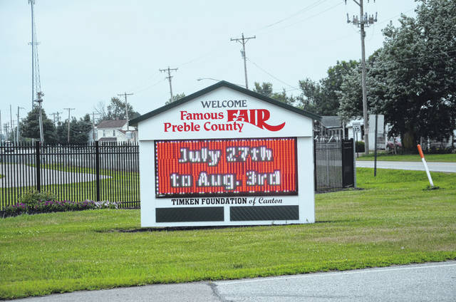 This year's Famous Preble County Fair — the 169th edition — gets under way Saturday, July 27 and runs through Aug. 3.