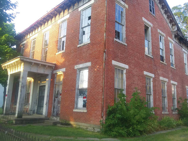 The Village of Camden council discussed demolishing a blighted structure located at 46 S. Main St., and voted to move ahead with plans for a new municipal website, at its meeting on August 1.
