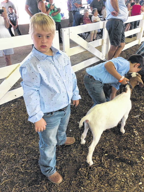 This year, Xander Pauley participated in his first ever Preble County Fair. Xander Pauley has down syndrome, so his mother, Tiffany Pauley, was originally nervous signing him up for 4-H, because she was afraid he wouldn't be accepted.