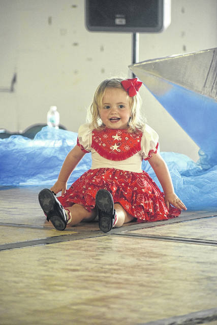 Baby contest held at the fair - Register Herald