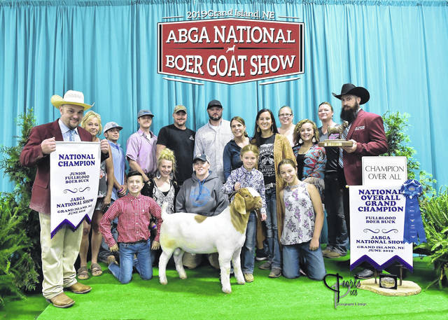 Boston Stapleton won 2019 JABGA National Grand Champion Buck.