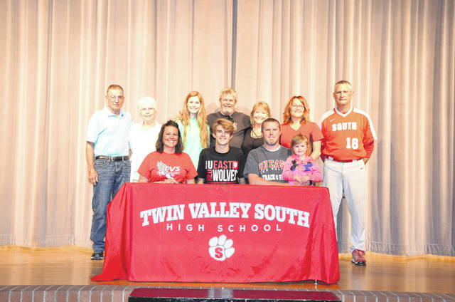 Jayden Bassler, a recent Twin Valley South High School graduate, has signed a letter of intent to compete in track and field at Indiana University East starting with the 2019-20 school year. Bassler finished ninth in the high jump at the Ohio state meet in 2018 and earned a return trip to the state meet in the high jump this spring. He reports personal bests of 1.98 meters in the high jump, 6.19 meters in the long jump and 23.9 seconds in the 200 meter dash. He also was an all-conference and all-district basketball player at Twin Valley South. He plans to major in math. IU East, a NAIA programs, competes in the Rivers States Conference.