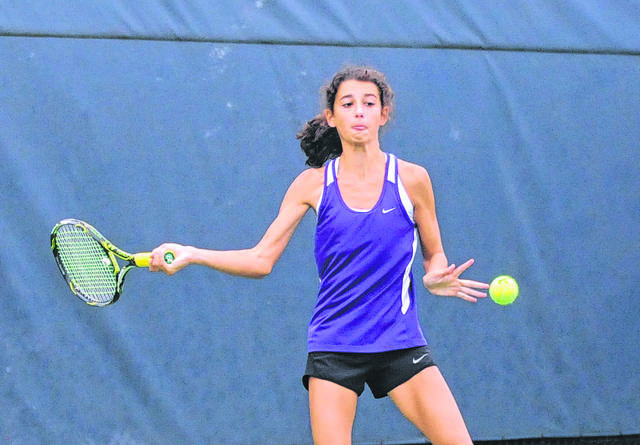 Sophia Murphy returns to help lead Eaton's girls tennis team. The junior was a district qualifier last season.