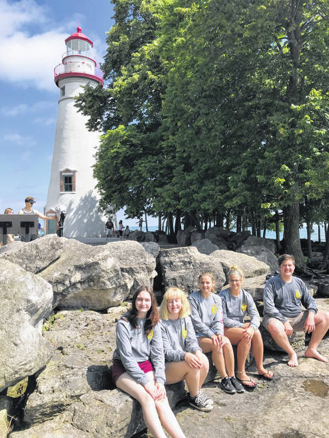 From July 10 through July 12, the Twin Valley South Miami Valley Career Technology Center (MVCTC) FFA officer team went on its annual Officer Retreat. The retreat was held near Sandusky.