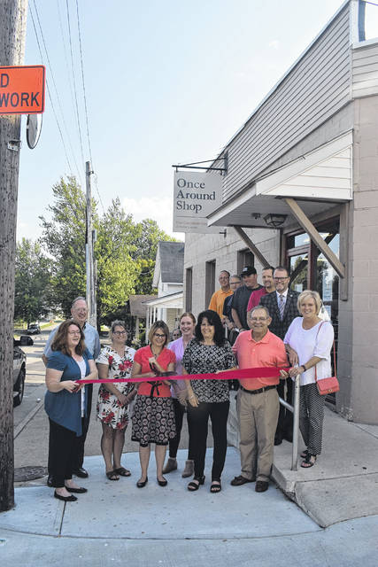 The Common Good of Preble County held a ribbon cutting on Thursday, Sept. 12, to celebrate its new status as a stand alone non-profit.