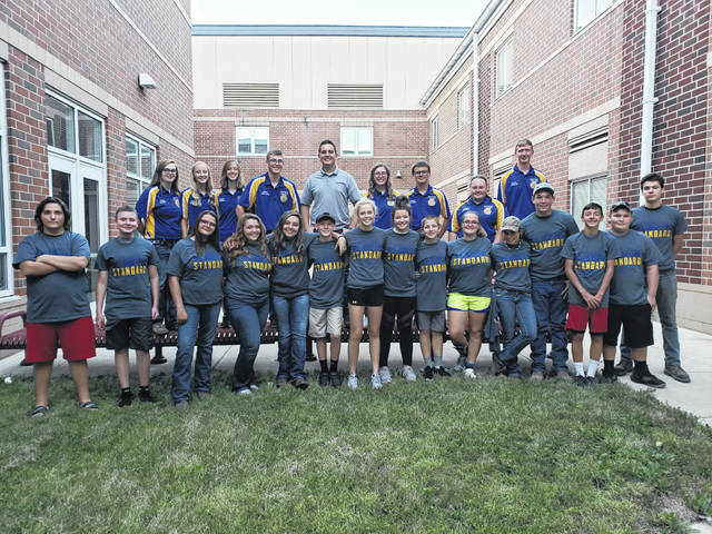 On Saturday, Sept. 14, the Eaton Miami Valley Career Technology Center (MVCTC) FFA chapter officers held a night for first year members to get to know each other, learn what the FFA has to offer, and have a little bit of fun.