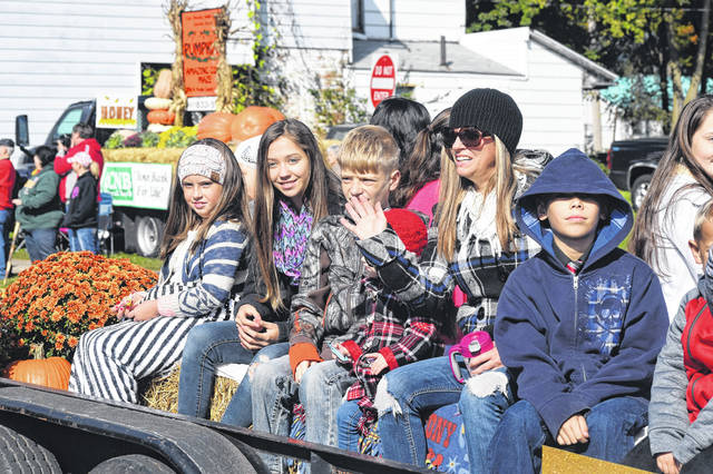 The Kiwanis-sponsored Oktoberfest in West Alexandria is celebrated annually with a parade and fall-themed activities. This year's festival runs Saturday, Oct. 12 and Sunday, Oct. 13.