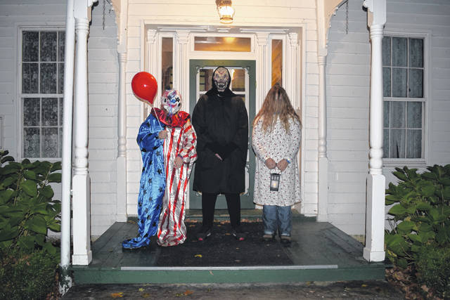"The Preble County Historical Society held its first two haunted hayrides of the season on Friday Oct. 11 and Saturday, Oct. 12. Families visited the PCHS ""Haunted Farm"" for a ride through the historical property featuring family-friendly scares from volunteers and snacks by a bonfire."