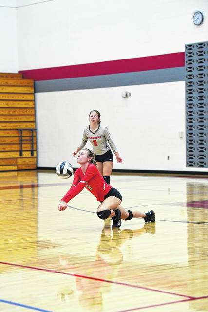 Twin Valley South's volleyball finished the regular with it first winning season since 2016. The Panthers defeated Dayton Christian and Ansonia before falling to Tri-Village last week. South beat DC in four sets 25-23, 25-23, 23-25, 25-15 on Monday, Oct. 7. On Tuesday, South beat host Ansonia 25-10, 25-16, 23-25, 25-18. In the regular season finale, South fell to at Tri-Village 25-13, 25-18, 25-18. The Panthers (12-10, 6-6 CCC) are scheduled to play Anna in the first round of the sectional tournament on Thursday, Oct. 17 at 7:30 p.m. at Brookville High School.