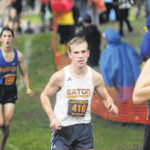 Eaton's boys cross country team finished 6th at regional meet