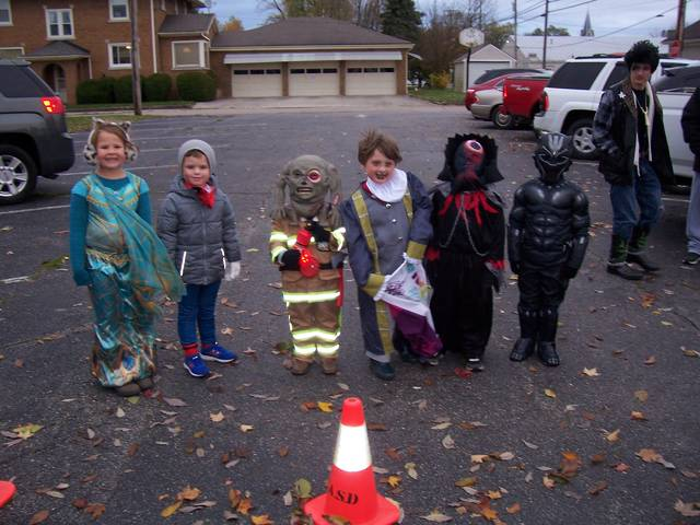 Winners, ages 4-7 years: Scariest: First, Jace Beneke, Second, Avery Limbert. Prettiest: First, Ellie Warrick. Most Original: First, Archer Suggs, Second, Waylon Stansberry, Third, Jace Yant.