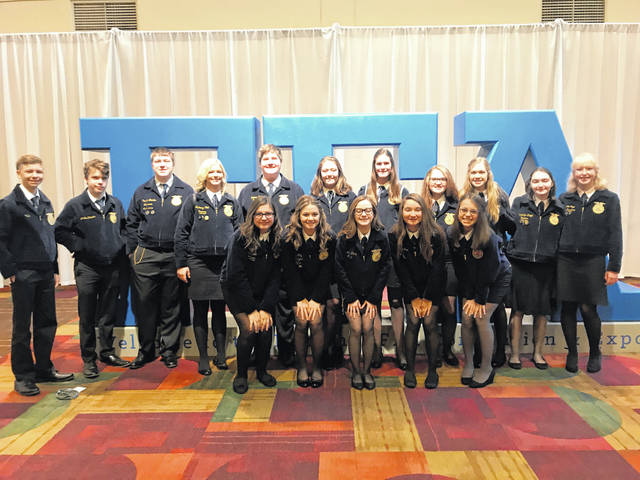From Oct. 30 through Nov. 2 the Twin Valley South Miami Valley Career Technology Center (MVCTC) FFA chapter attended the 92nd National FFA Convention.