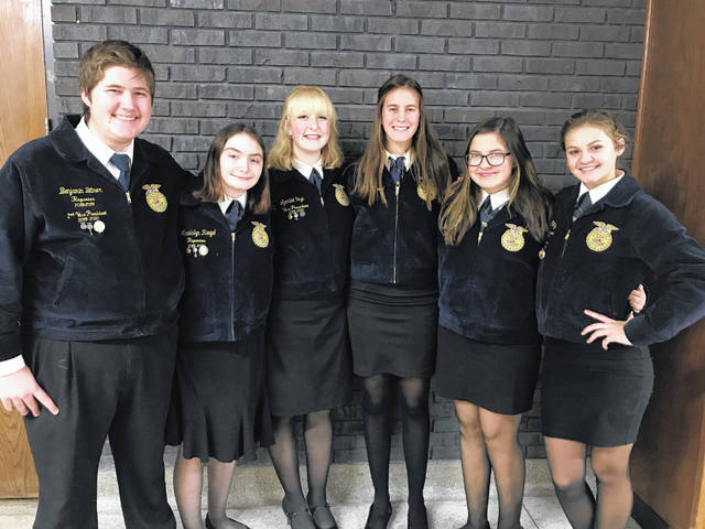 On Monday, Nov. 18, the Twin Valley South Miami Valley Career Technology Center (MVCTC) FFA chapter participated in the Sub-district Parliamentary Procedure CDE at National Trail.