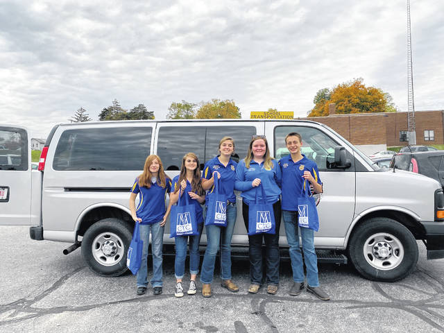 On Thursday, Oct. 24 Tri-County North MVCTC FFA chapter delivered bags to local farmers to celebrate their 2019 harvest.