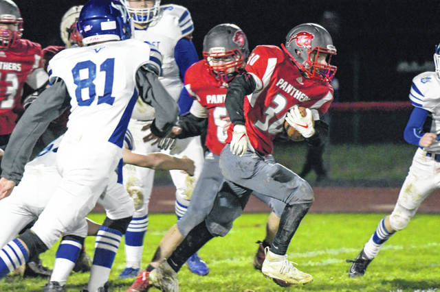 Twin Valley South's football wrapped up the 2019 season with a 50-6 setback to visiting Miami East on Friday, Nov. 1. The Panthers end the season with a 2-8 overall record and a 2-6 mark in the Cross County Conference. Against East, South fell behind 21-6 after the first quarter and trailed 42-6 at the half.