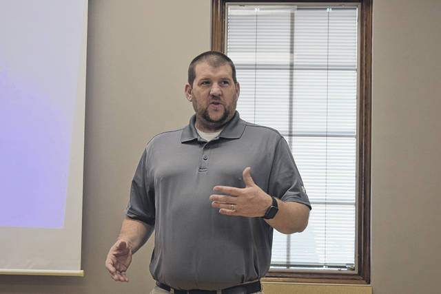 Preble County's Winter Preparedness meeting was held on Wednesday, Nov. 13. Preble County Engineer Kyle Cross started the meeting by addressing the snowfall earlier in the week.