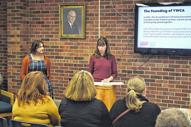 YWCA Dayton held their first ever Preble County Y-Dub Discussions: YWCA is On a Mission on Wednesday, Oct. 16 at the Eaton Library.