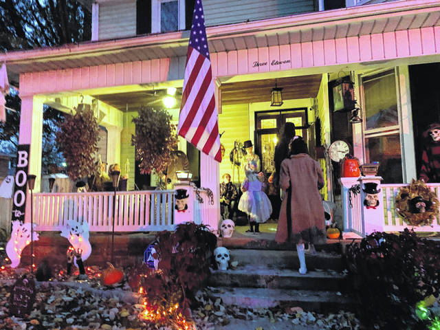 Beggar's Night was held in most Preble County communities on Thursday, Oct. 31. New Paris moved its event up to Tuesday, Oct. 29, due to forecasted rain on Thursday. No matter the day, Beggar's Night brought out ghosts and ghouls of all ages to dress up and collect candy.