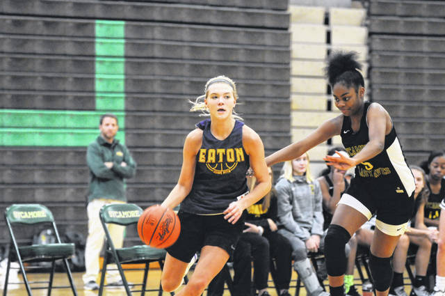 Senior Bailey Shepherd, a two-time all-SWBL player, will look to lead Eaton this season.