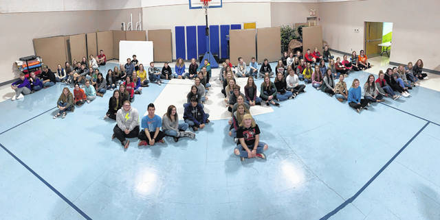 HOPE Squads are ogranized in every Preble County school district, founded to spread suicide awareness and training throughout the individual schools. On Monday, Dec. 9, the five HOPE Squads met for the first time as one large Preble County HOPE Squad.
