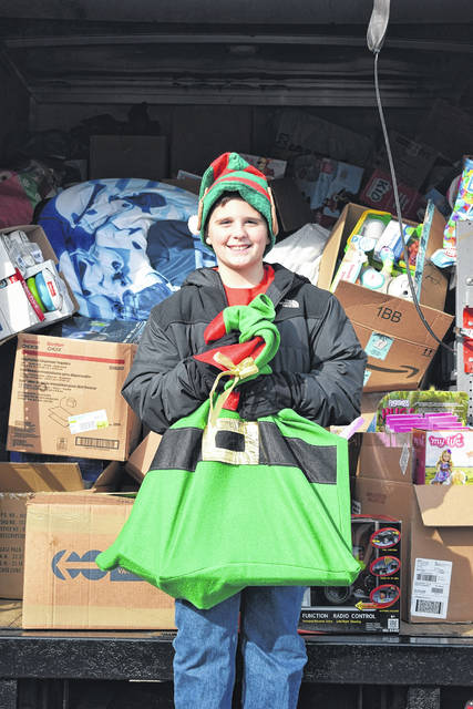 Ty Fugate continues to host his toy drive - Ty's Christmas Wish - year after year. This year, he donated nearly 3,000 toys to Dayton Children's Hospital on Friday, Dec. 13.