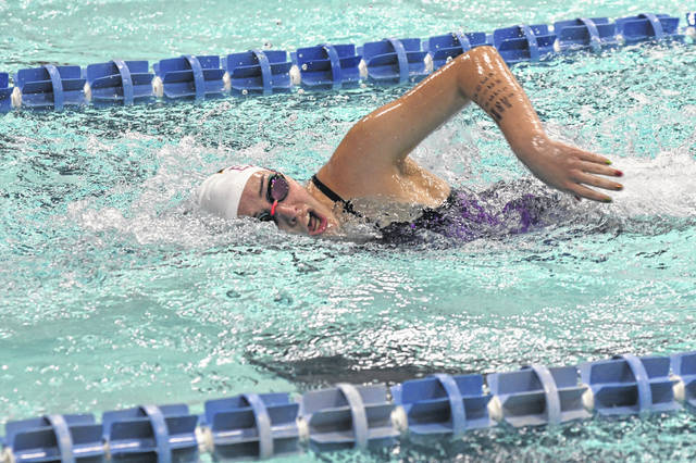 Eaton's swim teams opened the 2019-20 season with a pair of home meets over the past two weeks.