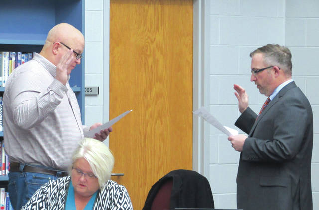 Councilman Jeff Hickey was sworn in as Mayor of West Alexandria on Monday night. Hickey was appointed after Mayor-elect Dan Utsinger stepped down due to a work conflict.