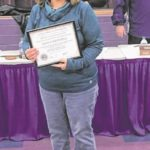 Students, staff recognized by Eaton Board