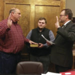 Village of Camden swears in new mayor Karen Moss, council members