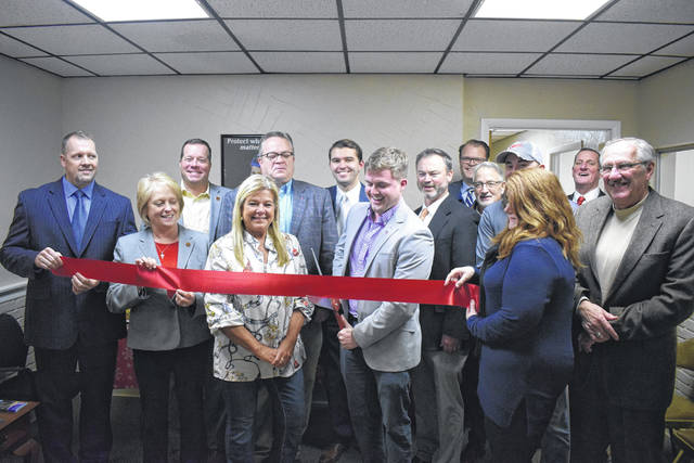 Shelter Insurance, located at 200 N. Barron St., held its grand opening and ribbon cutting ceremony in conjunction with the Preble County Chamber of Commerce on Monday, Dec. 16.