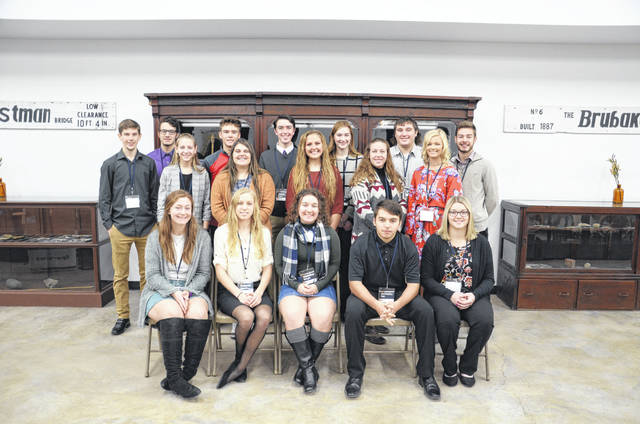 Members of the inaugural Junior LPC cohort are Christopher Farr, Annabel Ferguson, Matthew O'Dell, Jared Dunn, Brooke Dalton, Jacob Doty, Colton Toms, Abbey Rodefer, Alyssa Zdobinski, Madeline Ebright, Makenzi Cooper, Erika Wilkinson, Sydney Bezich, Liberty Chesney, MacKenzie Neal, Tyler Stevenson, Maggie Johnson and Spencer Hunt.