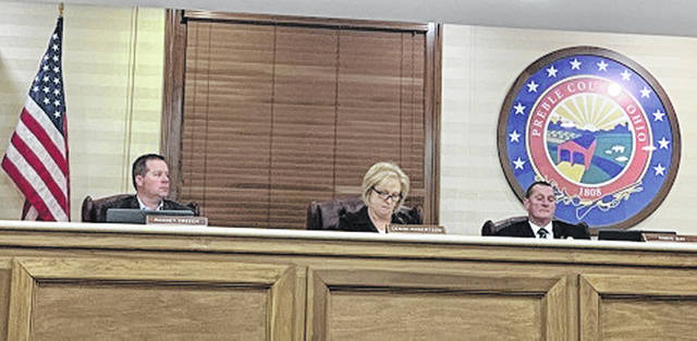 The Preble County Commissioners passed a resolution proclaiming Preble County a Second Amendment Sanctuary County during a meeting on Wednesday, Jan. 29.
